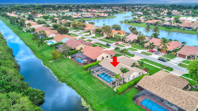 Boca Raton Single Family Home For Sale: 11204 Island Lakes Lane