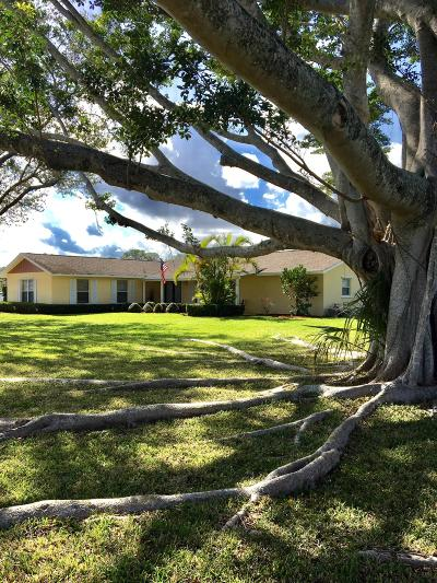 Palm Beach Gardens FL Single Family Home For Sale: $739,900