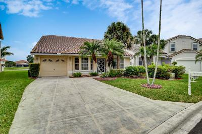 Boca Raton Single Family Home For Sale: 11268 Coral Key Drive
