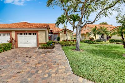 Boynton Beach Single Family Home For Sale: 7251 Summer Tree Drive