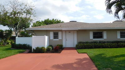 Boca Raton Single Family Home For Sale: 8896 Rheims Road #A