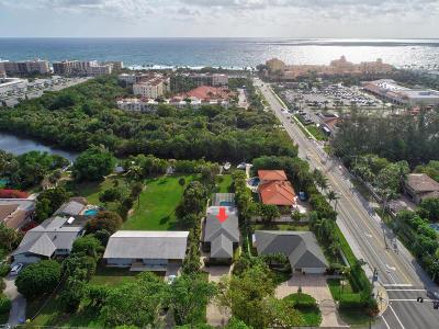 Lantana Single Family Home For Sale: 110 Atlantic Drive
