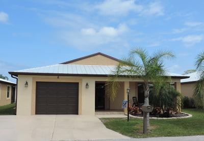 Port Saint Lucie Single Family Home For Sale: 6 Barcelona Lane