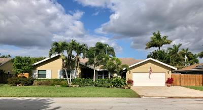 Boynton Beach Single Family Home For Sale: 4161 Juniper Terrace