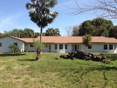 Loxahatchee Single Family Home For Sale: 1586 E Road