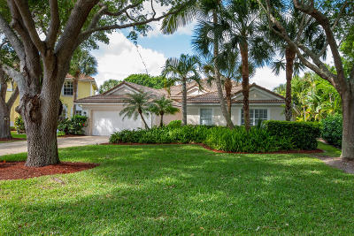 Jupiter Single Family Home For Sale: 282 Flamingo Point S