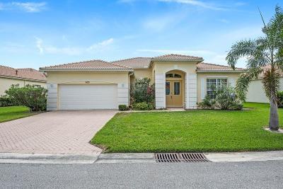 Port Saint Lucie Single Family Home For Sale: 633 SW Long Key Court