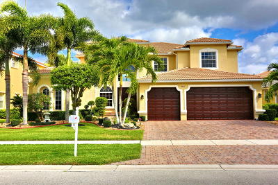Lake Worth Single Family Home For Sale: 9661 Campi Drive