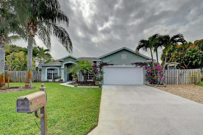 Hobe Sound Single Family Home For Sale: 7978 SE Orchard Terrace