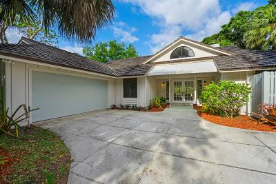 Jupiter Single Family Home For Sale: 18890 Misty Lake Drive