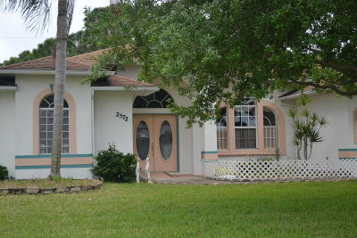 Port Saint Lucie Single Family Home For Sale: 2572 SE Sapelo Avenue
