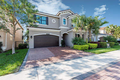 Delray Beach Single Family Home For Sale: 8070 Green Tourmaline Terrace