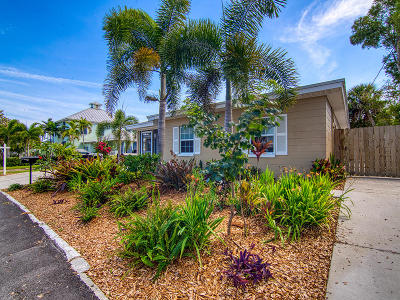 Fort Pierce Single Family Home For Sale: 105 E Avenue D