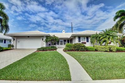 Boca Raton Single Family Home For Sale: 1111 Walnut Terrace