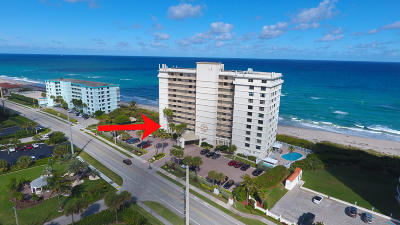 Juno Beach Condo For Sale: 840 Ocean Drive #206