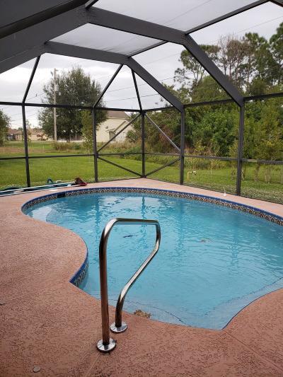 Port Saint Lucie Single Family Home For Sale: 4473 SW Babylon Street