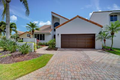 Boca Raton Single Family Home For Sale: 17120 Newport Club Drive