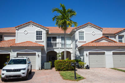 Boca Raton Townhouse For Sale: 8345 Via Leonessa