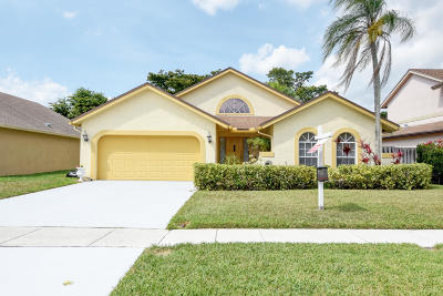 Boca Raton Single Family Home For Sale: 22358 Sea Bass Drive