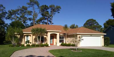 Fort Pierce Single Family Home Contingent: 5009 Paleo Pines Circle