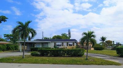 Deerfield Beach Single Family Home For Sale: 3700 NW 4 Avenue