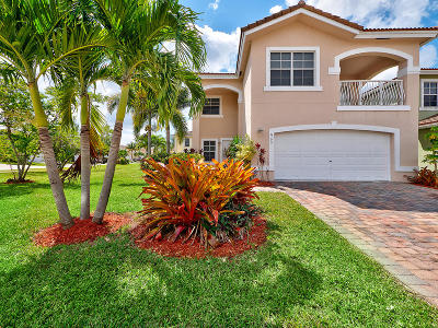 West Palm Beach Single Family Home For Sale: 6175 Adriatic Way Way