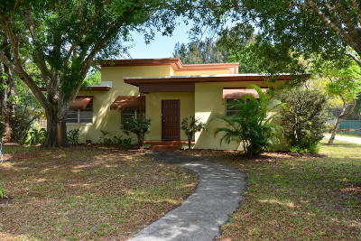 Fort Pierce Single Family Home Contingent: 3022 Sunrise Boulevard