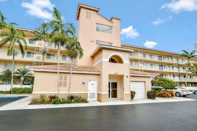 Boynton Beach Condo For Sale: 5906 Crystal Shores Drive #407