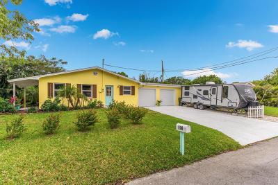 Stuart Single Family Home For Sale: 800 SE Madison Avenue