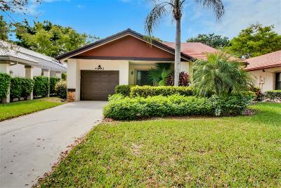 Boynton Beach Single Family Home For Sale: 4992 Boxwood Circle