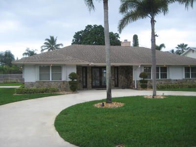 Delray Beach Single Family Home For Sale: 2995 Cardinal Drive