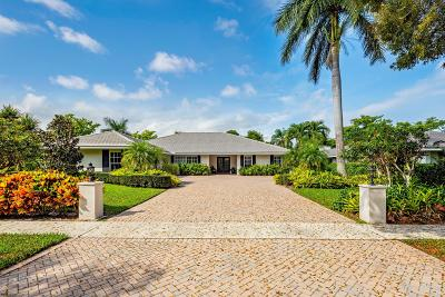 Boca Raton Single Family Home For Sale: 2843 Banyan Boulevard Circle NW