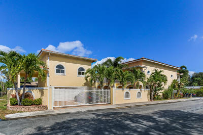 Lake Worth Single Family Home For Sale: 801 Palmway