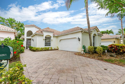 Boynton Beach Single Family Home For Sale: 5261 Brookview Drive