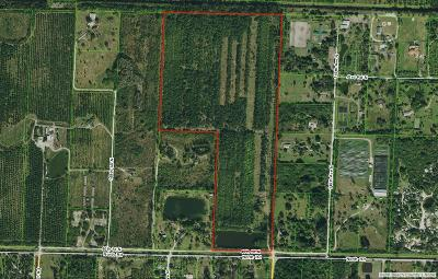 Palm Beach County Residential Lots & Land For Sale: 14563 North Road
