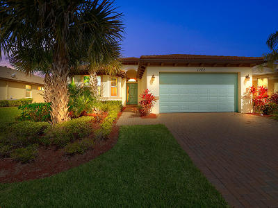 Port Saint Lucie Single Family Home For Sale: 11362 SW Wyndham Way