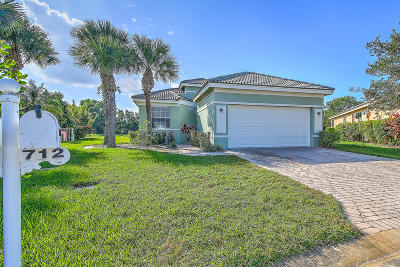 Port Saint Lucie Single Family Home For Sale: 712 NW Stanford Lane