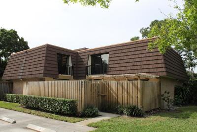 Palm Beach Gardens FL Townhouse For Sale: $239,500