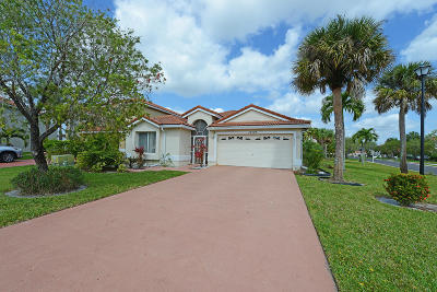 Boca Raton Single Family Home For Sale: 18303 Coral Isles Drive