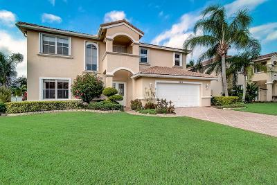 Lake Worth Single Family Home For Sale: 5842 La Gorce Circle