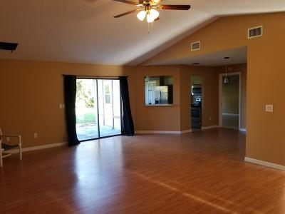 Port Saint Lucie Single Family Home For Sale: 1865 SW McAllister Lane