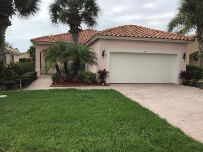 Port Saint Lucie Single Family Home For Sale: 337 NW Breezy Point Loop