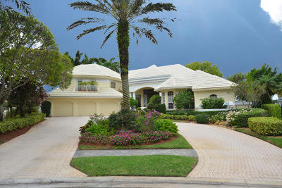 Boca Raton Single Family Home For Sale: 6960 Lake Estates Court