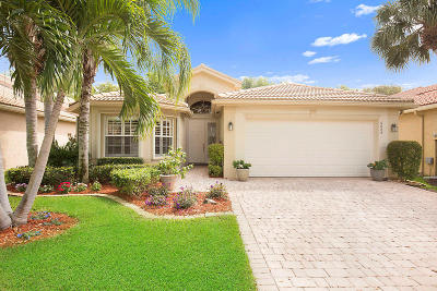 Delray Beach Single Family Home For Sale: 6884 Belmont Shore Drive