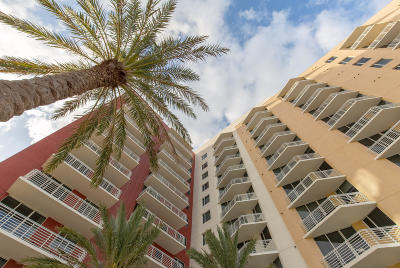 West Palm Beach Rental For Rent: 1551 Flagler Drive #912