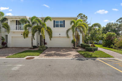 Palm Beach Gardens Townhouse For Sale: 5150 Hamilton Court