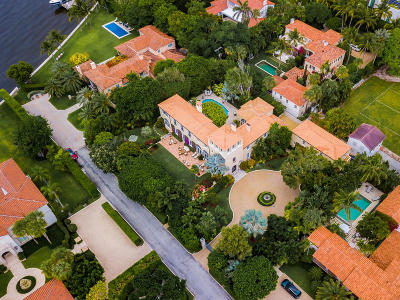 Palm Beach FL Single Family Home For Sale: $16,900,000