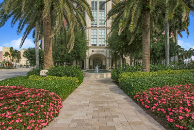 West Palm Beach Condo For Sale: 550 Okeechobee Boulevard #1420