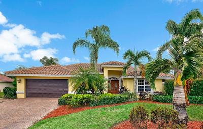 Hobe Sound Single Family Home For Sale: 8333 SE Woodcrest Place