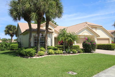 Boynton Beach Single Family Home For Sale: 7115 Ashford Lane